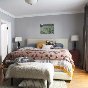 رنگ دیوار اتاق خواب