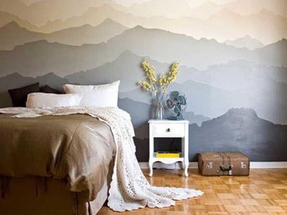 نقاشی دیواری از طبیعت