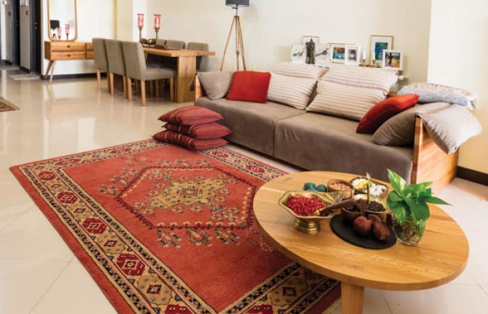 طراحی داخلی منزل ایرانی