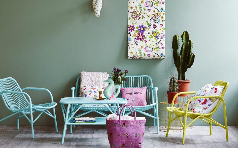 دکوراسیون خانه با رنگ های شاد