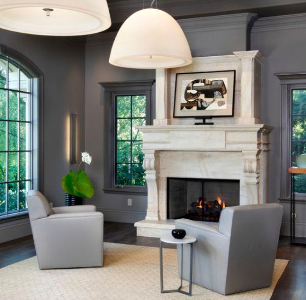 دکوراسیون منزل با رنگ خاکستری
