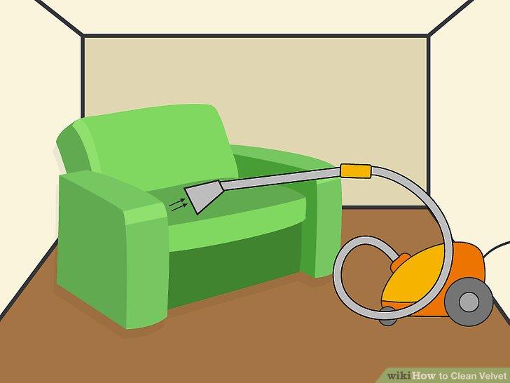 تمیز کردن مبل مخمل
