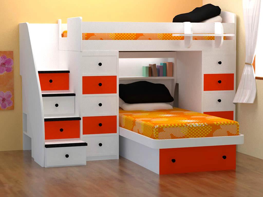 تخت خواب برای فضاهای کوچک