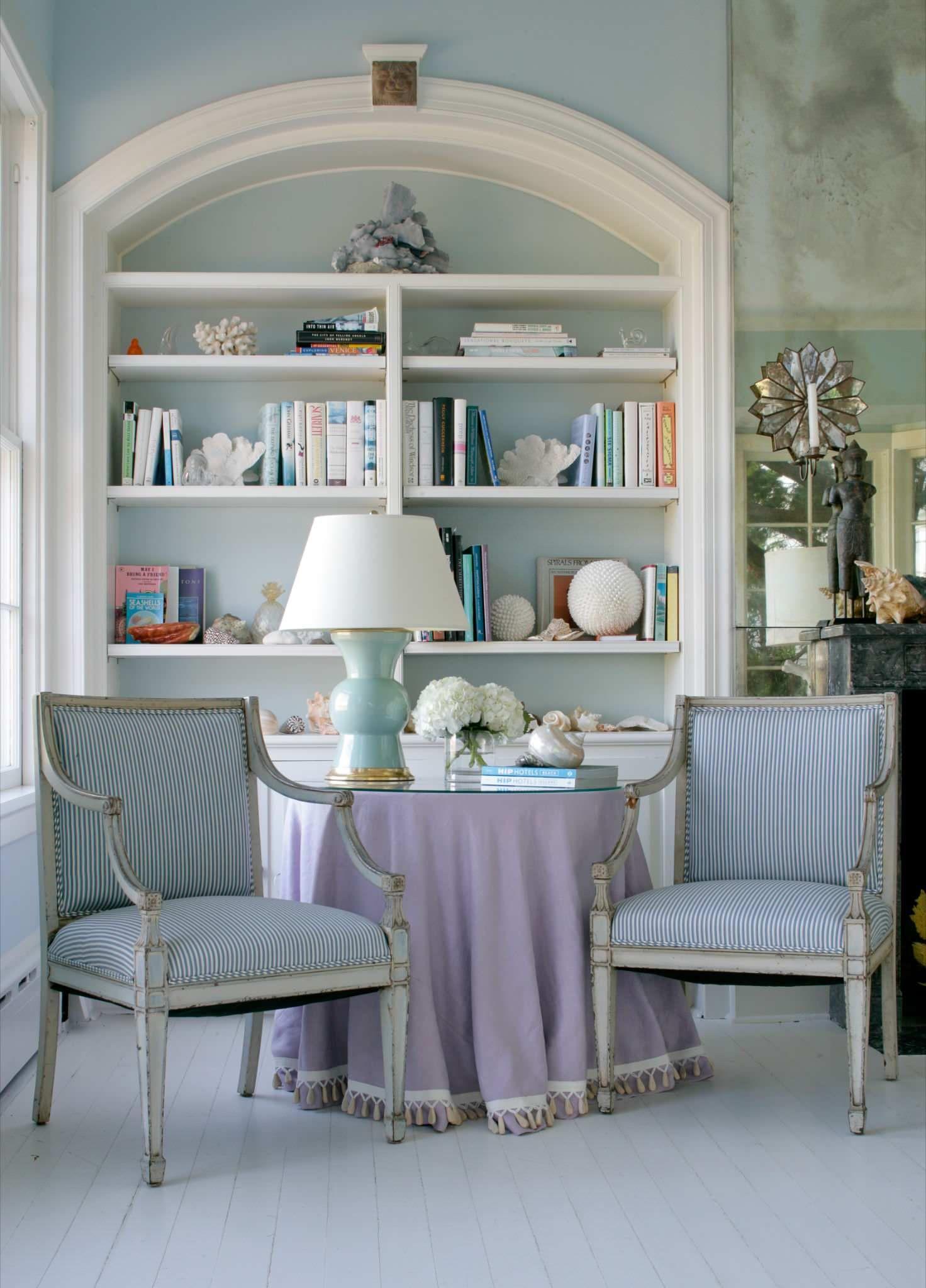 دکوراسیون منزل با رنگ آبی