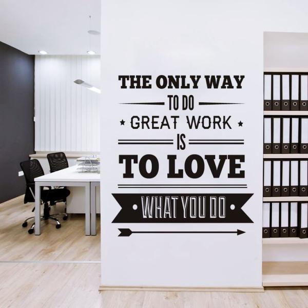 دکوراسیون دیوار دفتر کار