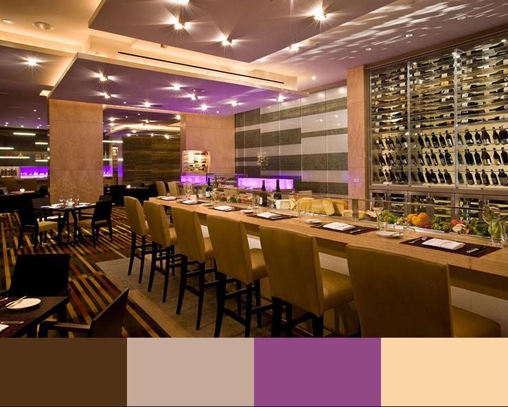 بهترین رنگ برای رستوران