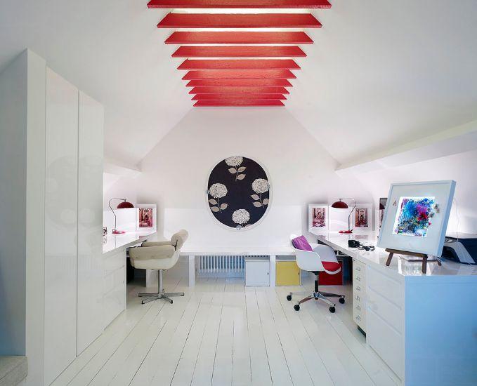 دکوراسیون منزل به رنگ سفید