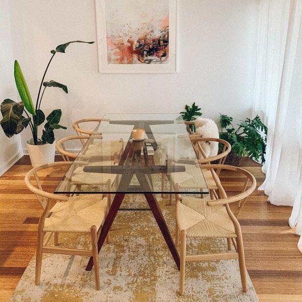 میز ناهار خوری مستطیلی