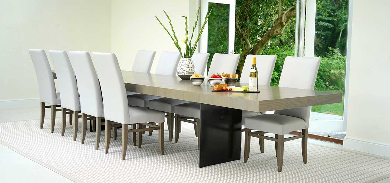 میز ناهار خوری گرد بهتر است یا مستطیل