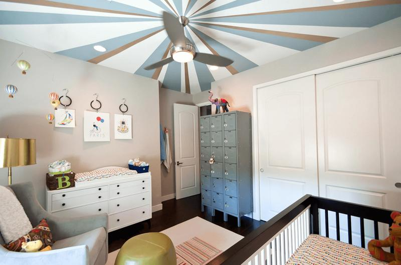 سقف رنگی خانه
