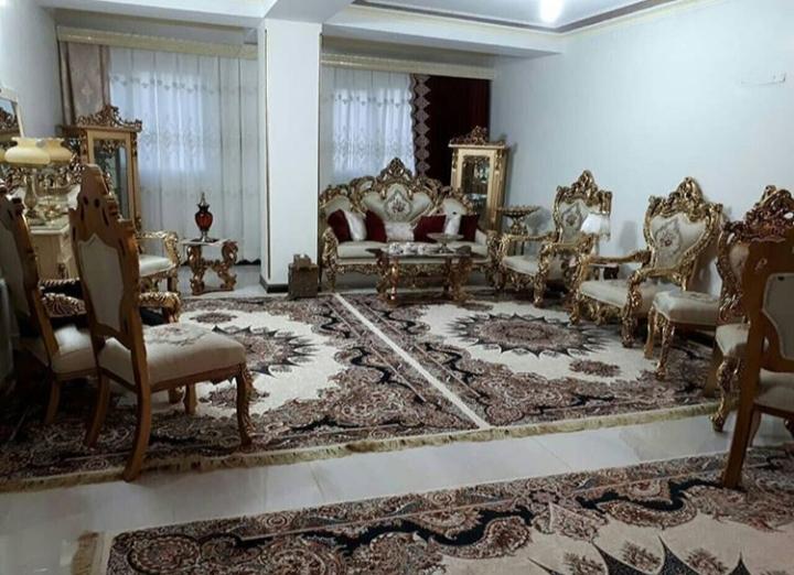 عکس دکوراسیون پذیرایی ایرانی