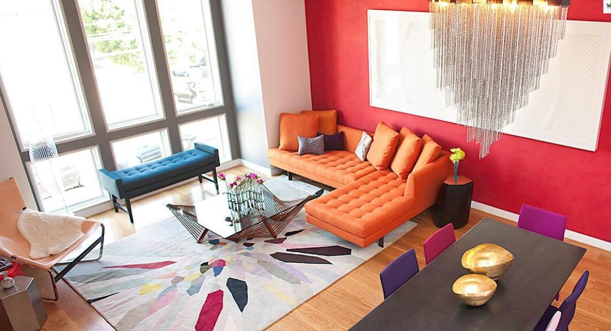 دکوراسیون منزل با رنگ های مختلف