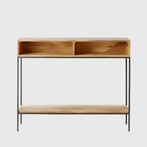 میز کنسول چوبی Industrial