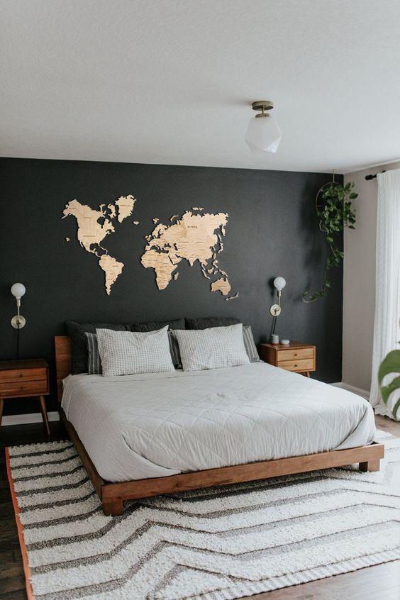 چه رنگی برای دیوار منزل مناسب است