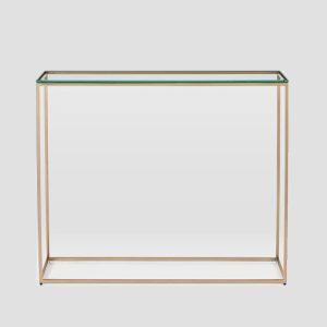 میز کنسول شیشه ای Streamline