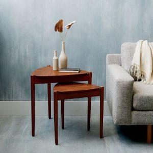 میز چوبی کنار مبلی Retro