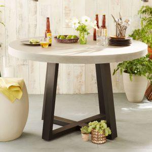 میز فضای باز Slab