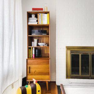 کتابخانه چوبی جدید