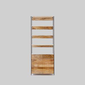قفسه چوبی مدل Industrial