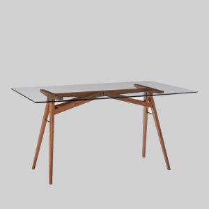 میز تحریر شیشه ای Jensen