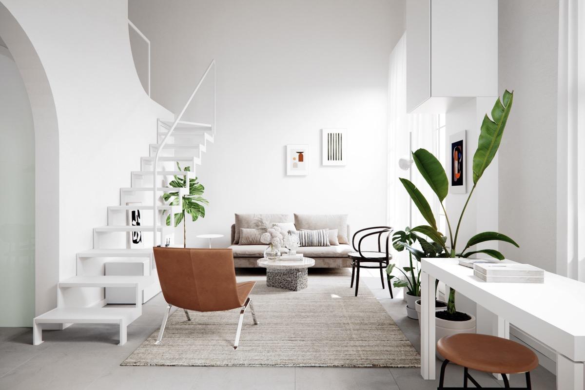 عکس دکوراسیون منزل به سبک اسکاندیناوی
