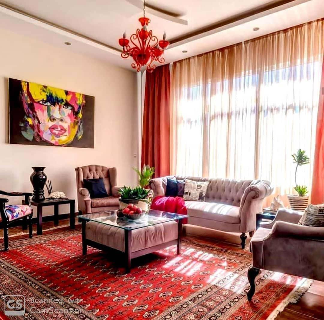 عکس دکوراسیون سنتی منزل ایرانی