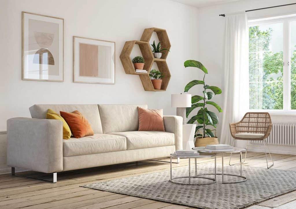 تزئین دیوار اتاق با کلکسیونی از وسایل مختلف