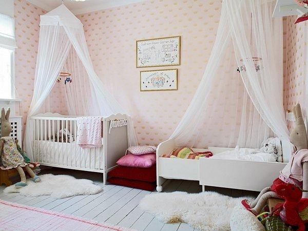 اتاق خواب دو نفره دخترانه