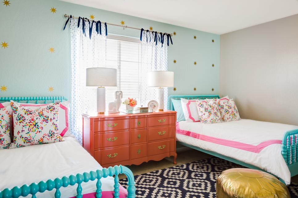 اتاق خواب دخترانه دو نفره