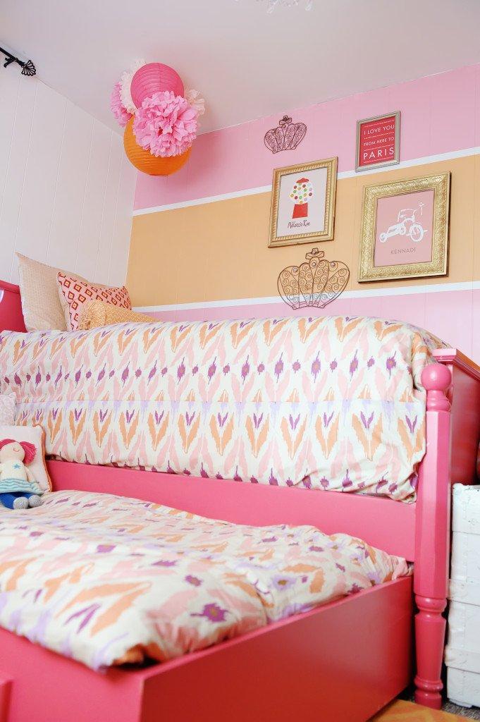 عکس اتاق خواب دخترانه دونفره