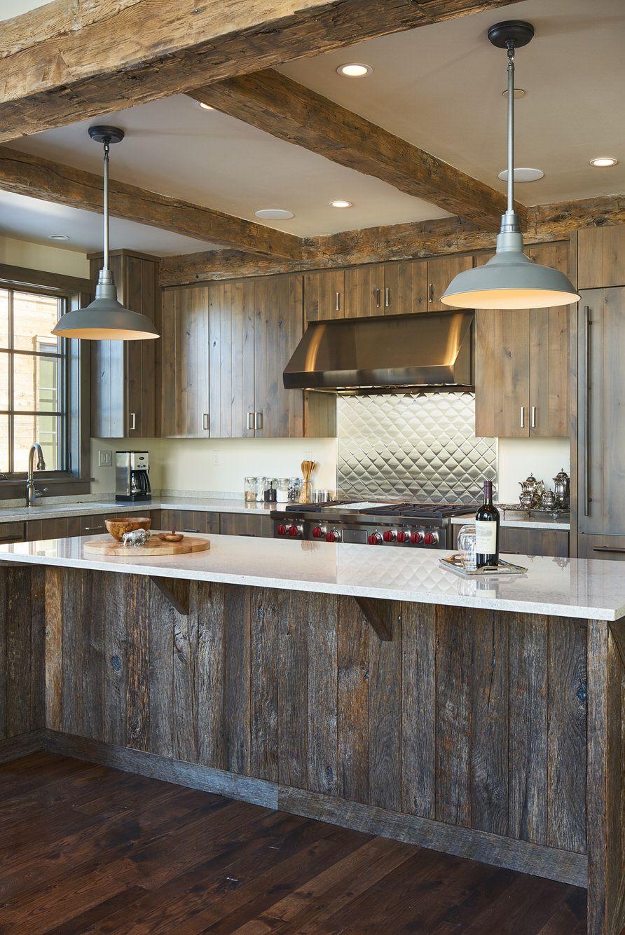 طراحی آشپزخانه به سبک روستیک