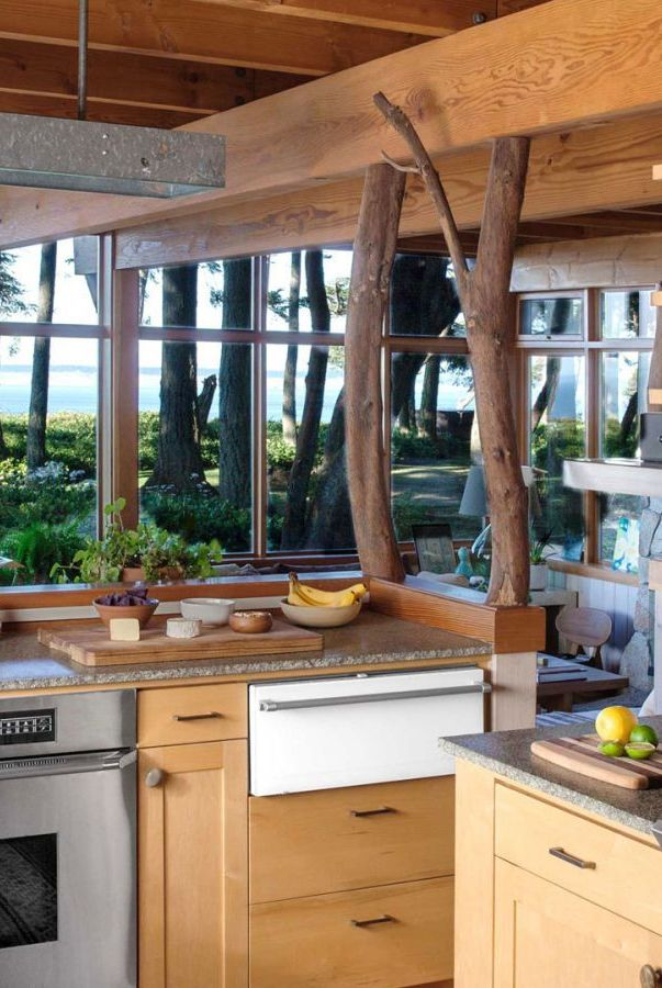 آشپزخانه به سبک روستایی