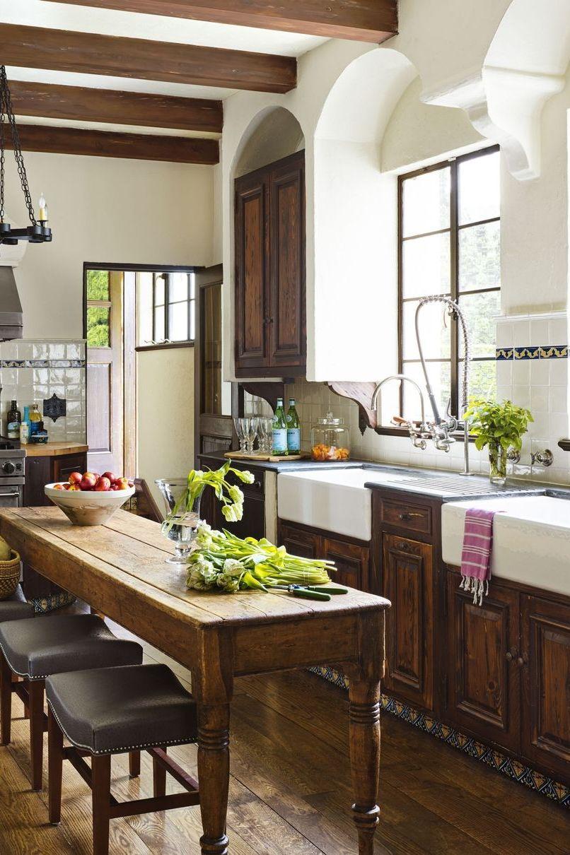 آشپزخانه سبک روستیک