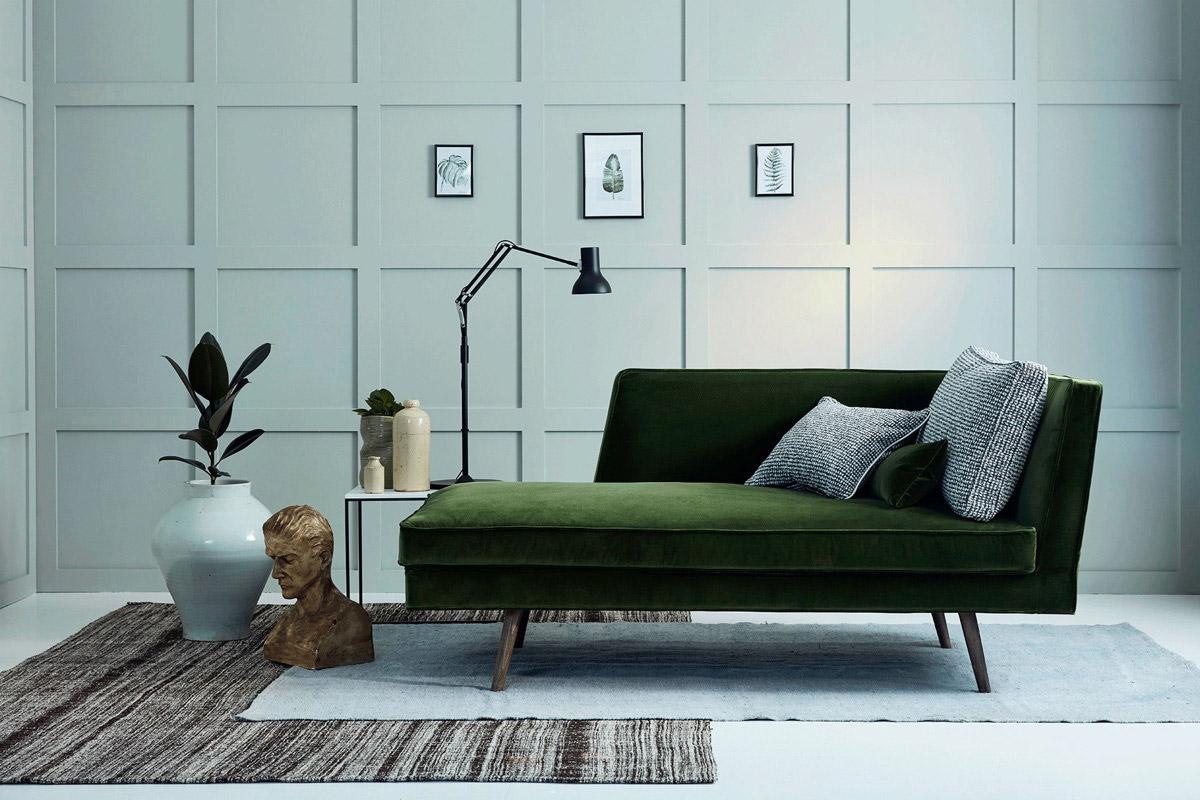 طراحی مبلمان سبز