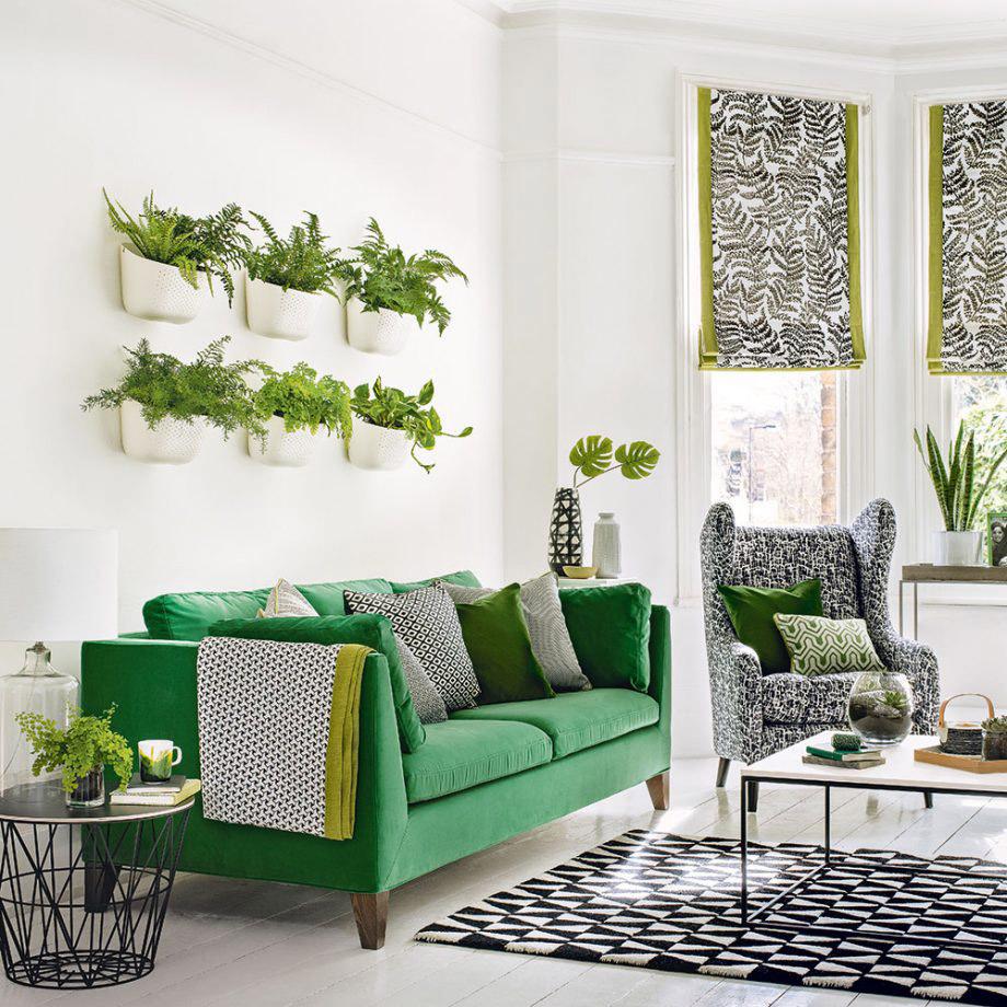 دکوراسیون منزل با مبل سبز