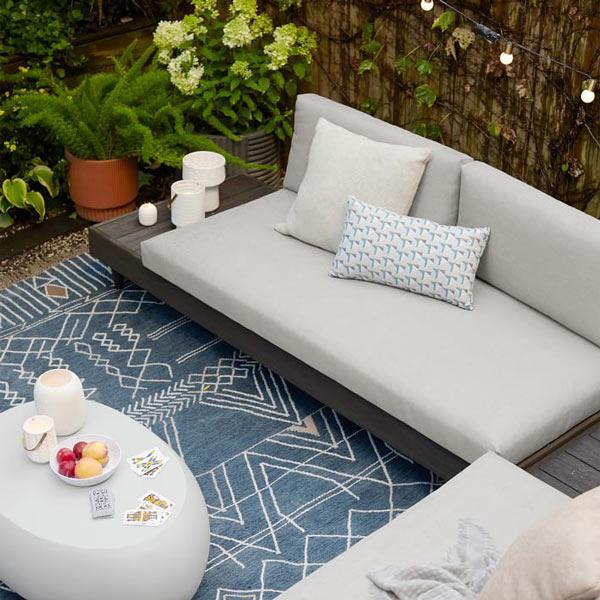 مدل مبل راحتی مدرن حیاط خلوت Portside