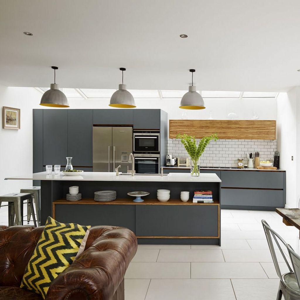 اپن آشپزخانه ساده و شیک