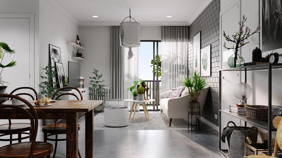 رنگ طوسی در طراحی داخلی