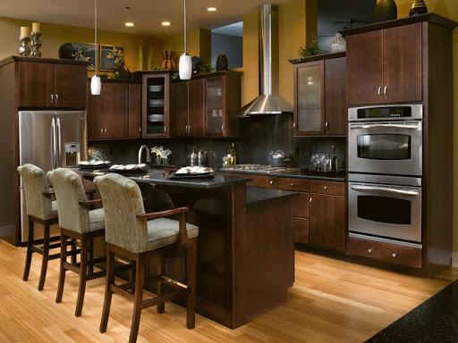 اپن آشپزخانه کلاسیک