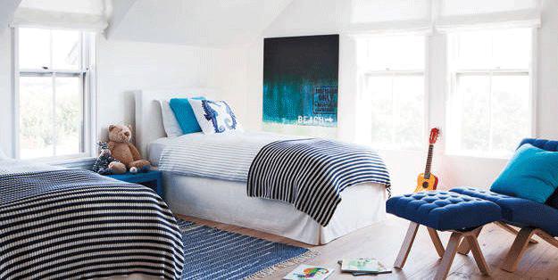 عکس اتاق خواب پسرانه معمولی