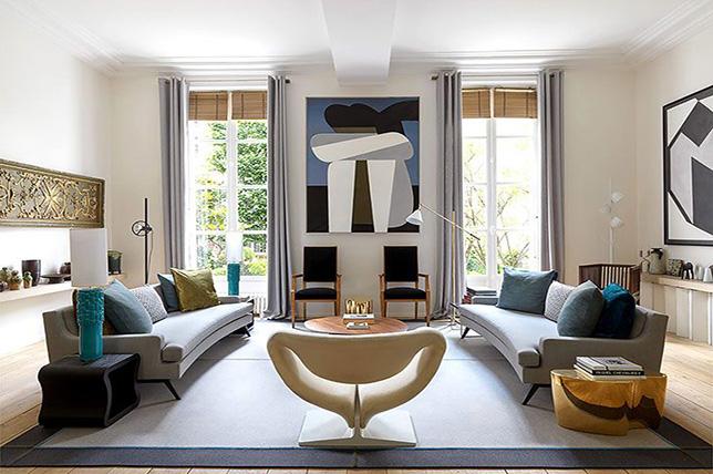 طراحی داخلی مدرن آپارتمان
