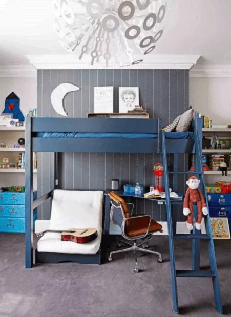 اتاق خواب پسرانه کودکانه