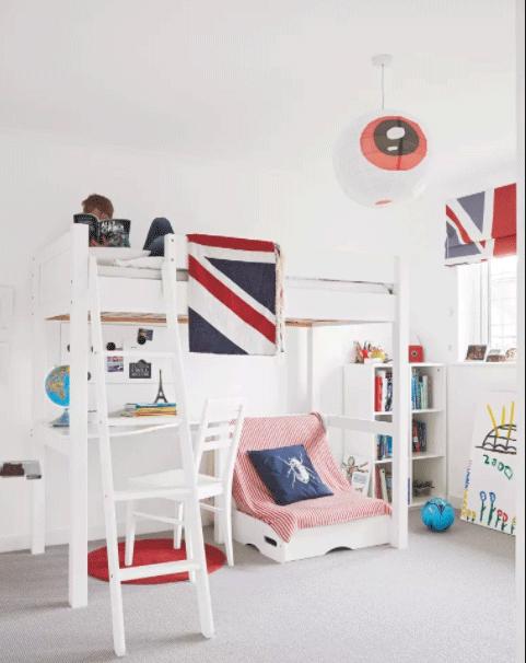 اتاق خواب پسرانه جالب