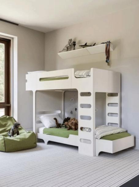 اتاق خواب پسرانه ساده