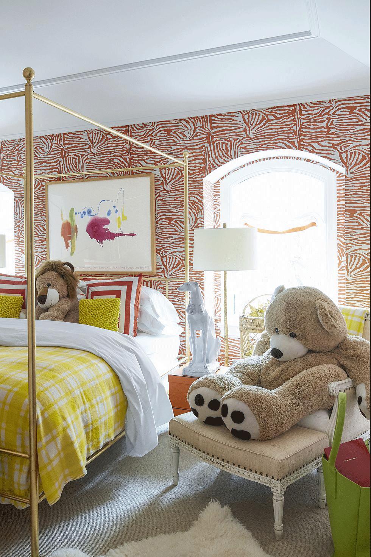 عکس اتاق خواب پسرانه ساده