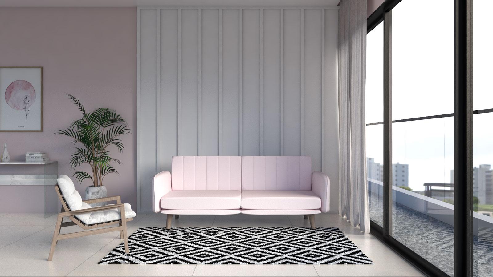 فرش سیاه و سفید