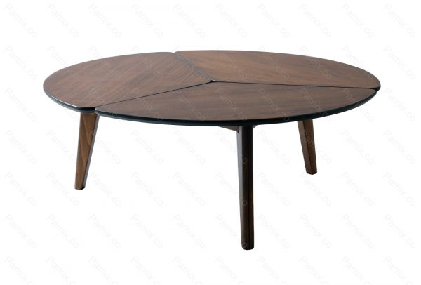 میز جلو مبلی گرد