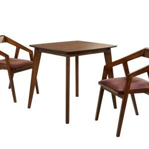 میز ناهارخوری 2 نفره مربع OAK